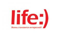 Абоненты life:) получили возможность пополнять счет платежной картой Visa или MasterCard