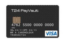 Transact24 выпустил предоплаченную карту Visa PayVault T24