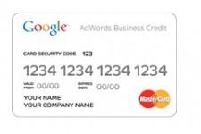 Google выпустили кредитную карту AdWords Business Credit для кредитования малого бизнеса