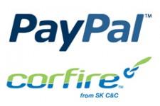 CorFire интегрируется с PayPal для усовершенствования услуг мобильной коммерции для продавцов и их клиентов