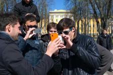 Bitcoin пришел в киевский сквер