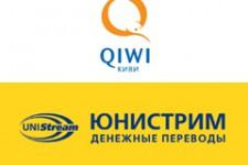 Объем денежных переводов ЮНИСТРИМ через QIWI Терминалы в I полугодии 2014 г. вырос вдвое
