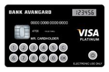 Российский банк приступает к выпуску нового типа карт с дисплеем