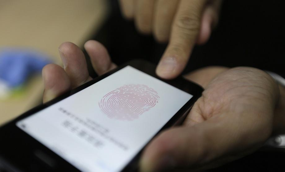 Сканер отпечатков пальцев