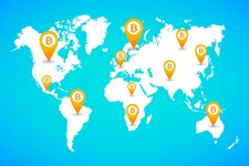 Глобальная карта Bitcoin-компаний