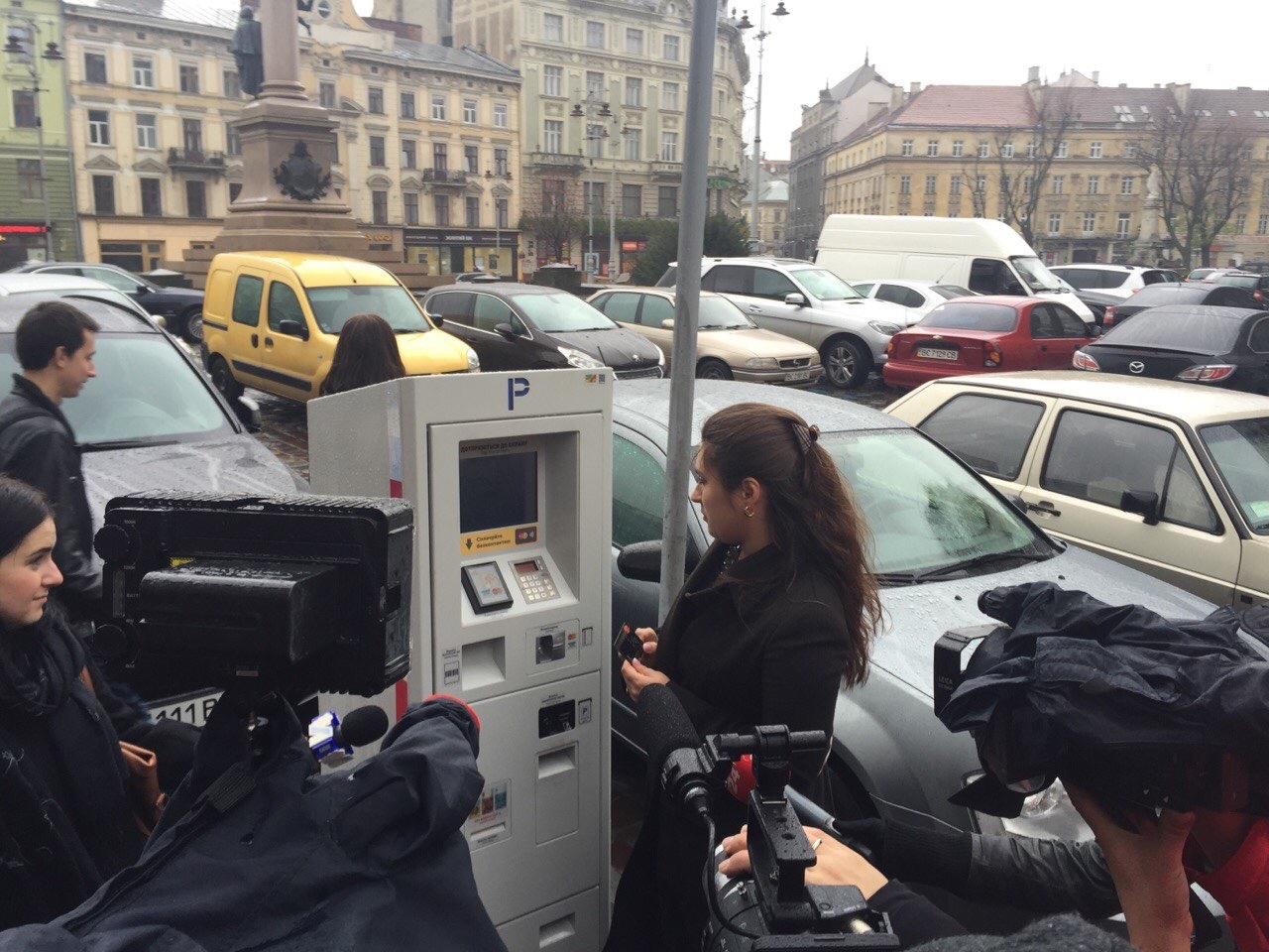 Lviv parking