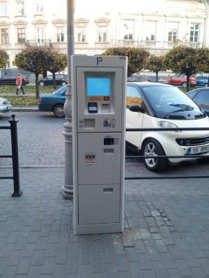 Parking automat