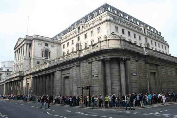 Bank of England — Англия, 1694 г.
