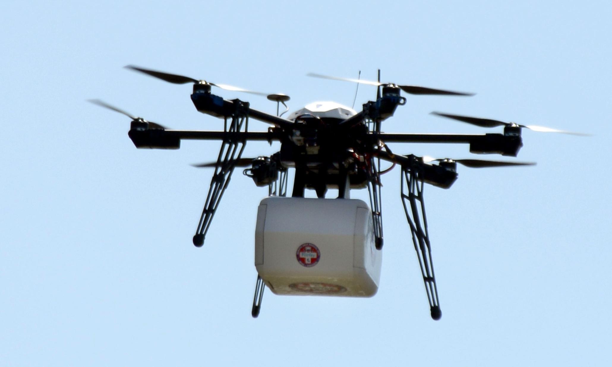доставка на дроне