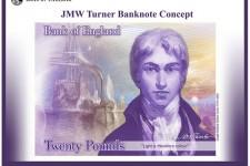 На пластиковой банкноте £20 изобразят художника