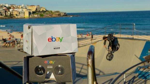 eBay открыл магазин в виртуальной реальности (видео)
