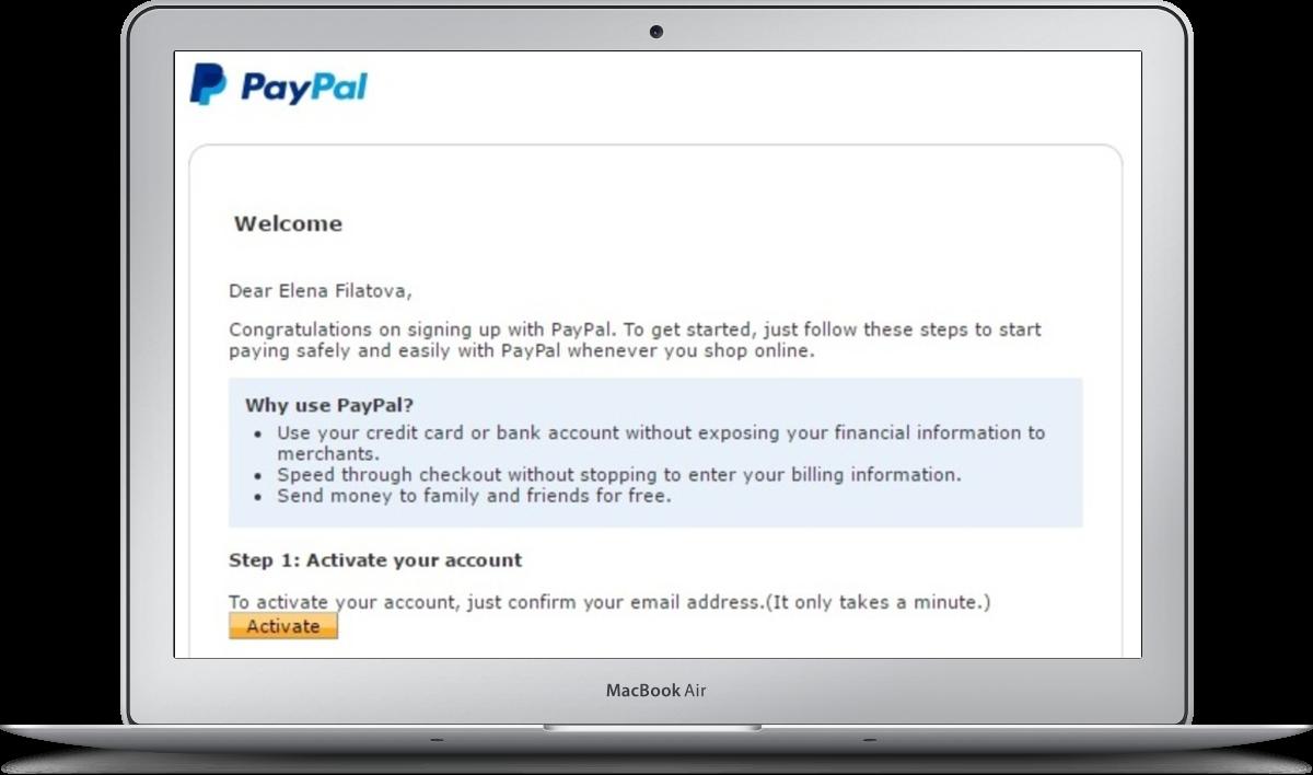 Как осуществлять платежи через PayPal
