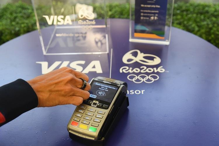 NFC кольцо от Visa