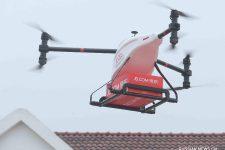 Доставка дронами запущена в Китае — ФОТО
