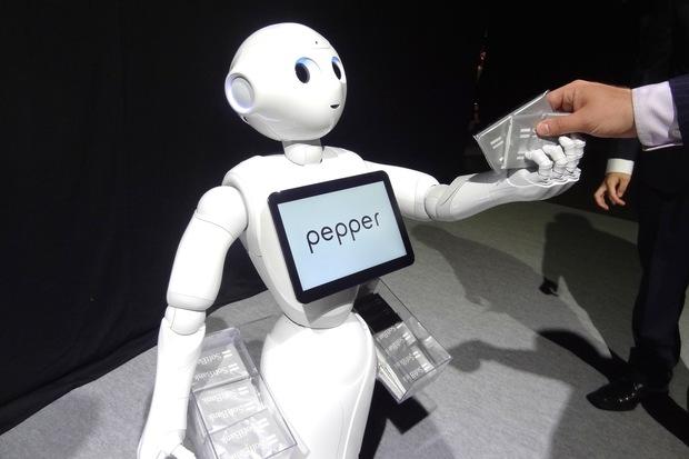 Робот по имени Pepper будет обслуживать клиентов банков