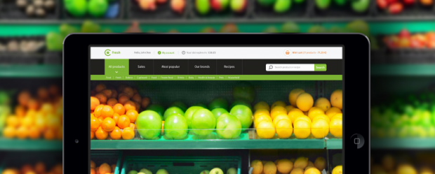 Продукты питания на онлайн