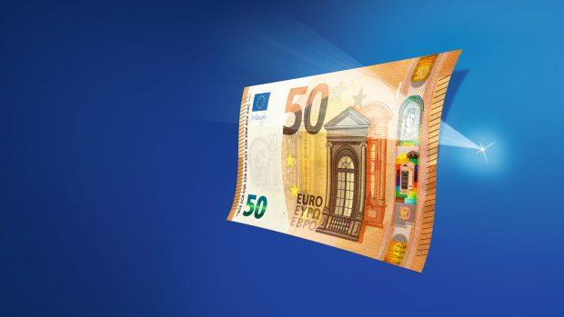 ЕЦБ представил новую купюру номиналом 50 евро (видео)