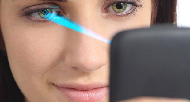 Сканирование радужной оболочки глаза