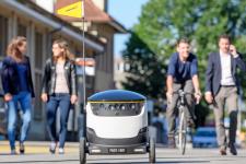 В Швейцарии тестируют доставку роботами
