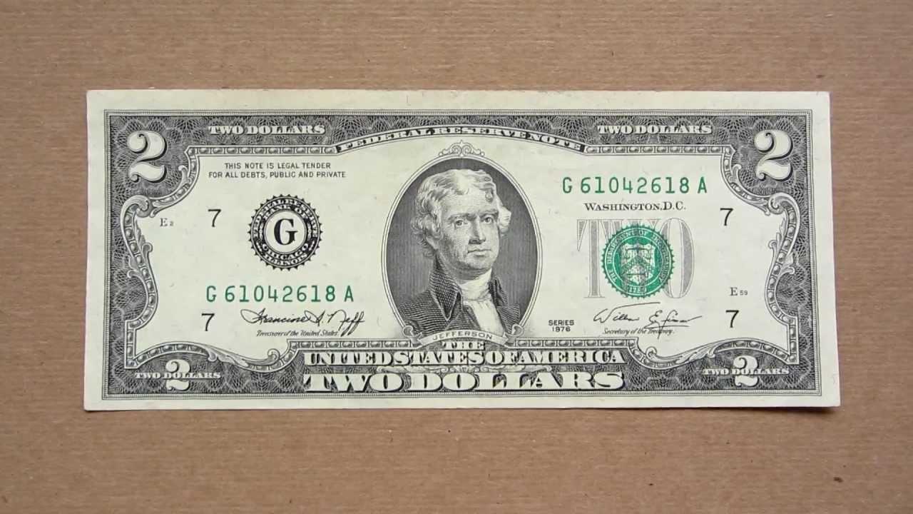 Клад из копилки: легенды и загадки редкой двухдолларовой купюры (видео)