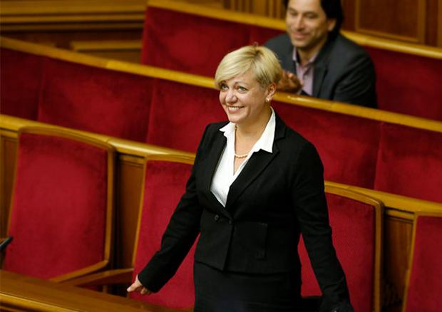 Гонтарева вошла вчисло наилучших банкиров Европы