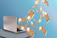 Электронные деньги в Украине — инфографика