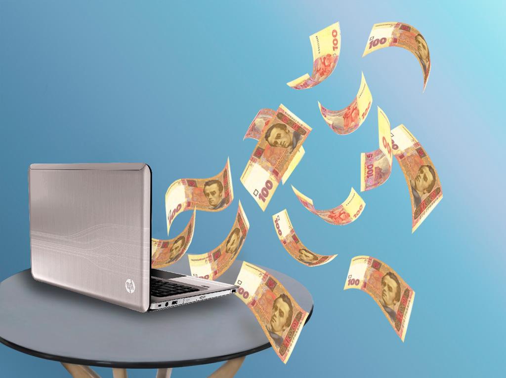 НБУ: Украинцы стали больше пользоваться электронными деньгами