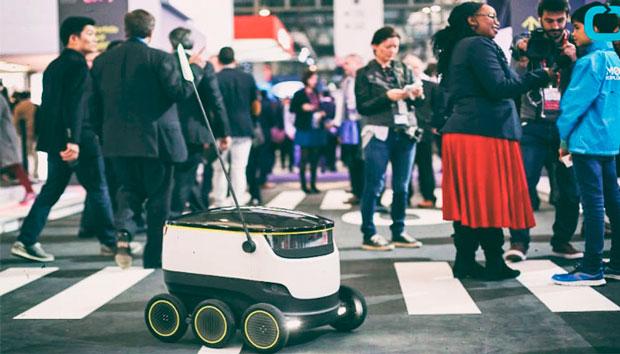 Доставка роботами