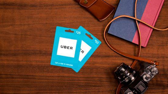 Подарочные карты Uber поступили в продажу