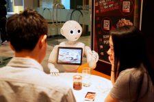 Гуманоидный робот Пеппер будет работать в банке