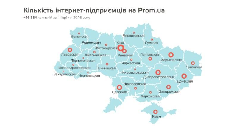 prom-ua карта
