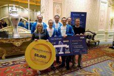 Украинская команда победила в финтех-хакатоне в США