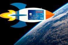 Космический платеж: бесконтактную транзакцию совершили над Землей