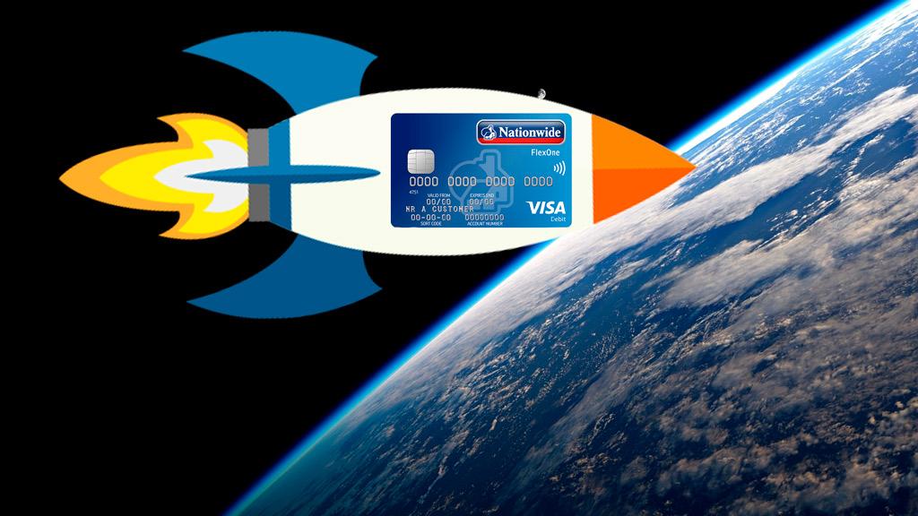 Платежная транзакция в космосе