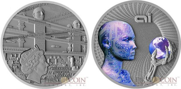 niue-island-code-of-the-future-series-artificial-intelligence-2-silver-coin-2016-fluorescent-uv-effect-antique-finish-2-oz-obverse-900x900-768x380