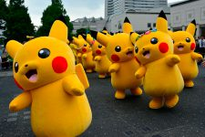 В Японии займутся валютным регулированием в Pokemon Go