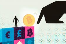 Бег от кризиса: зафиксирован рекордный спрос на биткоин