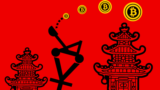 Биткоин в Китае
