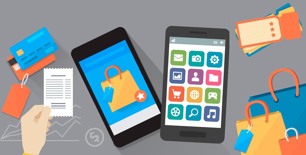 Объем мобильной коммерции