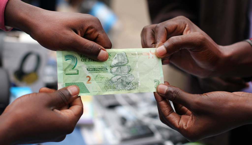 Квазивалюта в Зимбабве