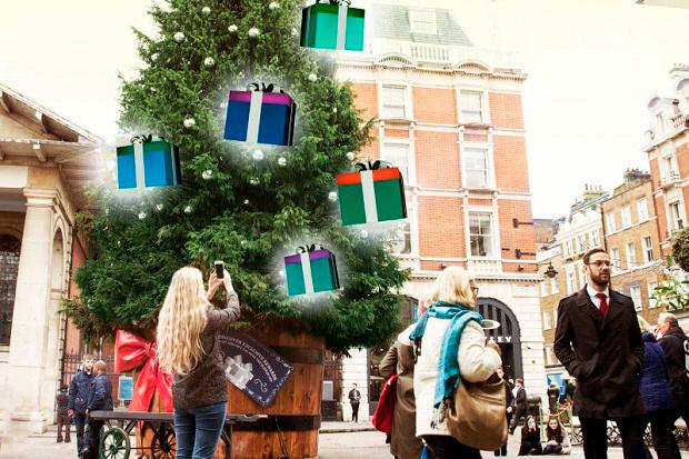 Дополненная реальность в Covent Garden