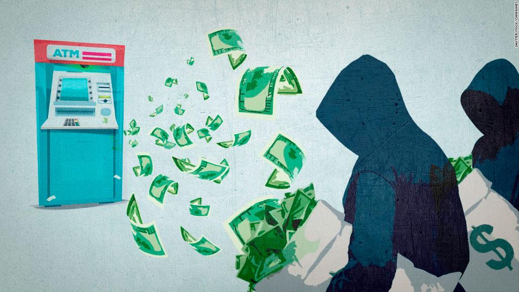 ограбления банкоматов