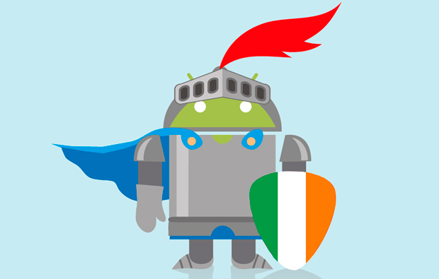 Android Pay в Ирландии