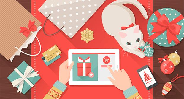 Рождественские подарки онлайн