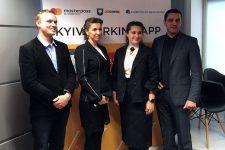Без налички: киевляне могут оплатить парковку в мобильном приложении