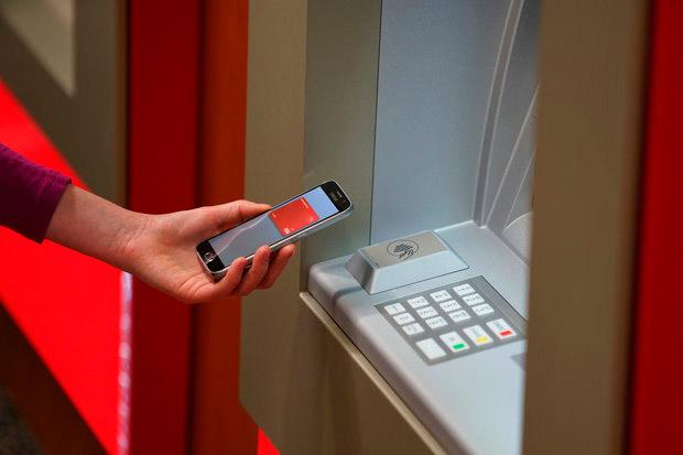 Бесконтактные банкоматы