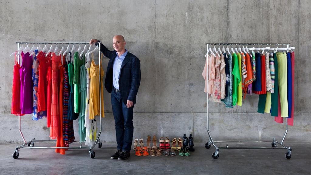 Amazon на рынке одежды