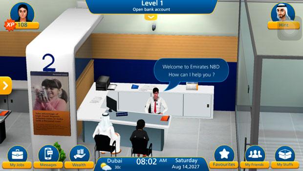 Мобильная игра Banki