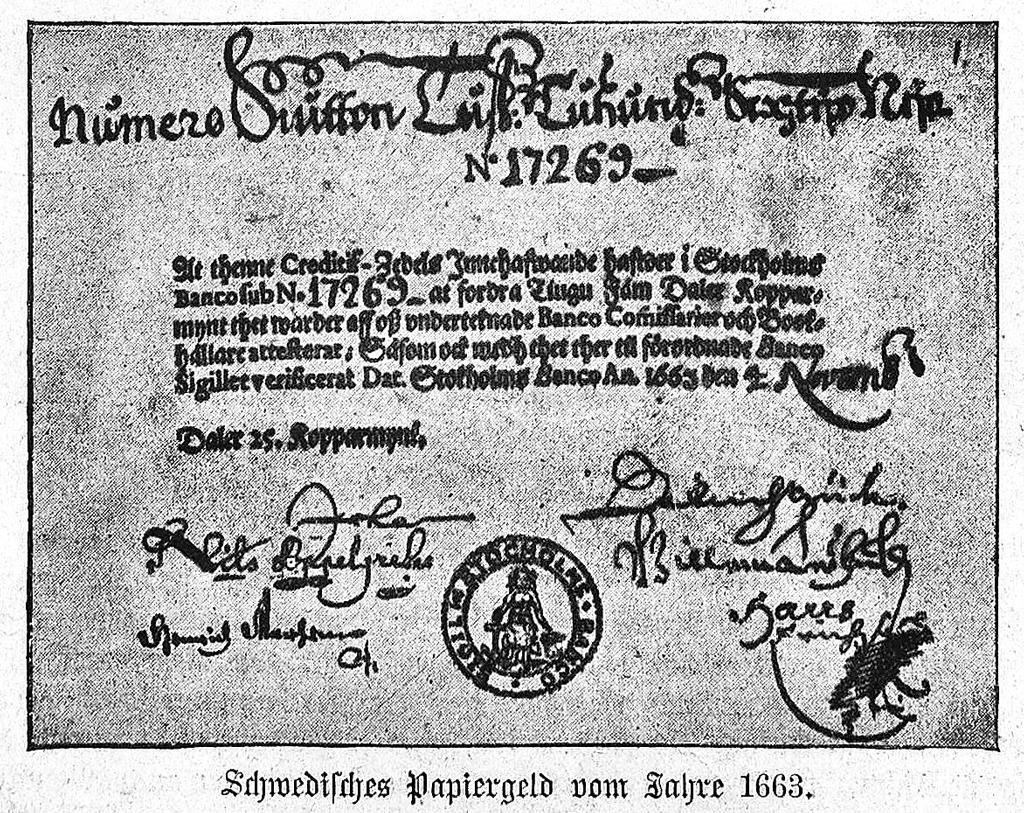 ქაღალდის ფული: როგორ გაჩნდნენ პირველი ბანკნოტები