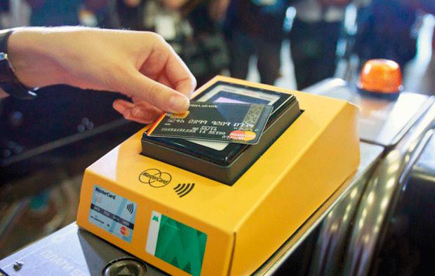Бесконтактные платежи в метро